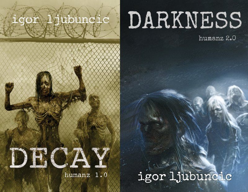 Decay, Darkness, side by side